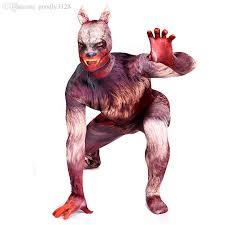 Wolf Halloween Costume Discount Wholesale Werewolf Costume Werewolf Cosplay Garou