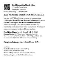 philadelphia sketch club members show newman galleries donartnews