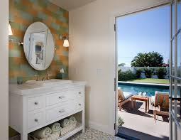 Hampton Bay Vanities Hampton Bay Sconce With Hamptons Style Home Powder Room