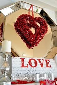 Valentine Decorating Ideas Adventures In Decorating Our Valentine Mantel