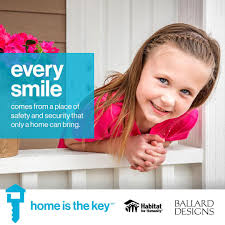 ballard designs linkedin we are proud to support home is the key helping unlock futures for families in america help us celebrate the joyful life which all starts at home