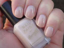 barry m nail paint new release soft pink beige nail polish