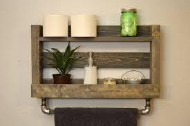 bathroom shelves ideas bathroom wall shelf with towel bar luxury home design ideas