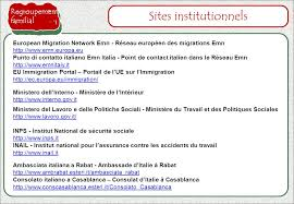 consolato generale d italia a casablanca sécurité sociale fiches sur la réglementation pour l entrée en