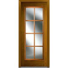 fiberglass front doors with glass mmi door 32 in x 80 in sdl low e right hand full lite classic