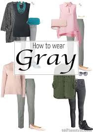 do the colors purple gray match well in clothes fashion how to wear gray choose color combinations and ensembles
