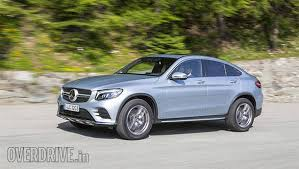 mercedes coupe review 2016 mercedes glc coupe drive review overdrive