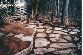 Backyard Stepping Stones by Beauty Landscape Stepping Stones U2014 Porch And Landscape Ideas