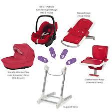 bebe confort chaise haute support keyo de bébé confort chaises hautes réglables aubert