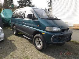 mitsubishi delica space gear sold 1994 delica spacegear exceed crystal lite roof pd4w 2 4ltr