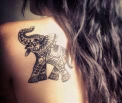 48 cool elephant tattoos on shoulder