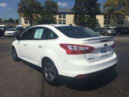 gas mileage for 2014 ford focus used 2014 ford focus se
