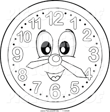Awesome Clocks by Awesome Clocks Design 9 Vector Clipart Of A Grayscale Wall Clock