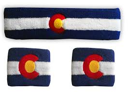 sweat band colorado flag sweatband bundle custom sweat