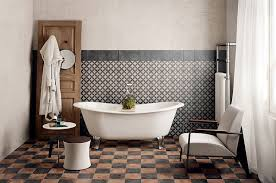 vintage bathrooms ideas black and brown vintage bathroom floor tile ideas decolover