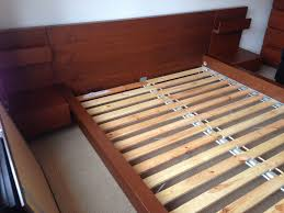 Malm Bed Frame Ikea King Size Malm Bed Frame Ikea With 2 Bed Side Table In Norbury