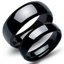 Black Wedding Rings For Her by Black Wedding Ring Couples Set Suppliers Best Black Wedding Ring