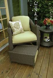 patio chairs with ottomans creative of patio chair with ottoman with