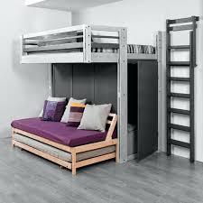 canape lit superpose lit superpose avec canape lit gigogne placac sous un lit mezzanine
