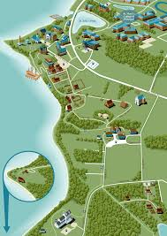 Southern States Of America Map by Map Of Historic Southern Maryland Walking Tours Hiking Trails