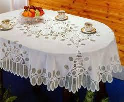 battenberg vinyl lace tablecloth 54 x72 oval home