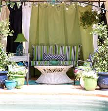 Outdoor Gazebo Curtains by The Goodwill Gal U2013