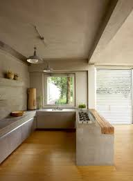 and wood best 25 concrete kitchen ideas on concrete worktop