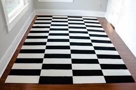 it diy ikea stockholm inspired rug carpet tiles curbly