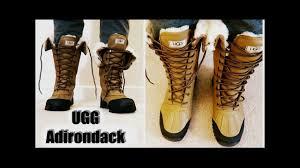 s ugg australia adirondack boots ugg australia adirondack ii from zappos unboxing