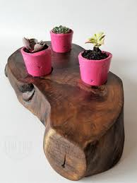 tree stump planters plant stands stools planters kentucky liveedge