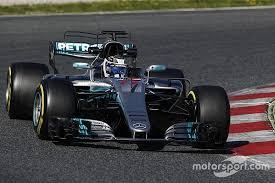 mercedes barcelona f1 test mercedes heads stroll shunts