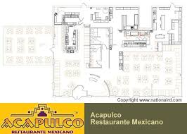 floor layout design kitchen fabulous mexican restaurant kitchen layout design