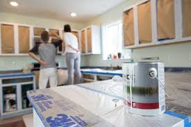spraying kitchen cabinets the best paint for painting kitchen cabinets kitchn