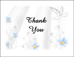 sympathy thank you cards helpful bereavement thank you card wording sles