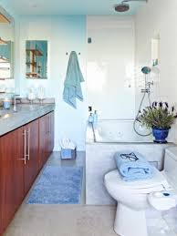 blue and black bathroom ideas blue bathroom ideas standing washbasin the mirror black