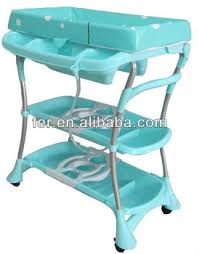 Changing Table With Bath Tub Folding Baby Changing Bath Changing Table Changing Table Bath Tub