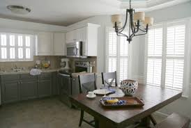 How To Paint The Kitchen Cabinets Painting Melamine Kitchen Cabinets The Decorologist
