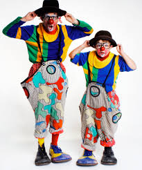 pictures of circus clowns 1968