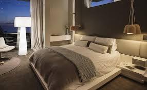 magenta bedroom polished black dresser plain beige wall paint rustic tall bedside