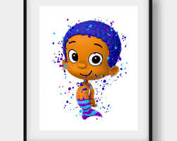 bubble guppies goby etsy