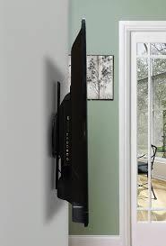 mounting a tv on the wall mount port1vivo full rotation portrait fixed flat vesa tv wall