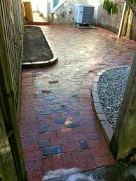 Basket Weave Brick Patio by Custom Stoneworks U0026 Design Inc 2013