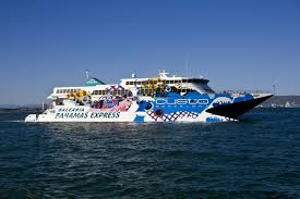 bahamas express fast ferry service to bimini brown s marina in