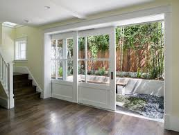 Pocket Sliding Glass Doors Patio by Modern Sliding Patio Doors Options You Might Want To Try Hgnv Com