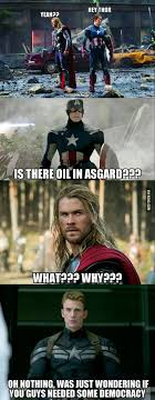 Thor Meme - 9gag no seriously is there oil in asgard facebook