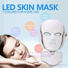 Light Therapy For Skin Lights Led Mask Face Neck Skin Care Led Light Therapy Led