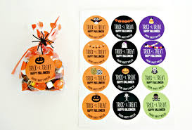 groopdealz personalized halloween stickers u0026 large treat bags