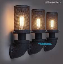 Vintage Industrial Wall Sconce Vintage Industrial Wall Sconce 20 Edison Bulbs Wall L