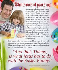 6 ways jesus is like the easter bunny where easter comes from and