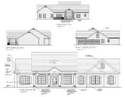 floor plans and elevations of houses the oconee 6250 3 bedrooms and 3 5 baths the house designers
